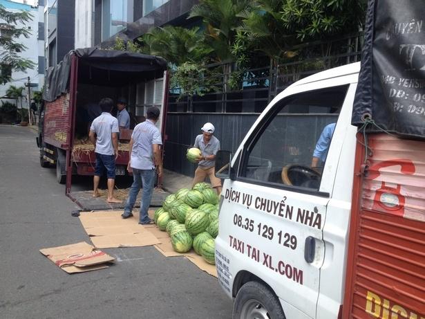 Taxi tải chuyển nhà tại tphcm